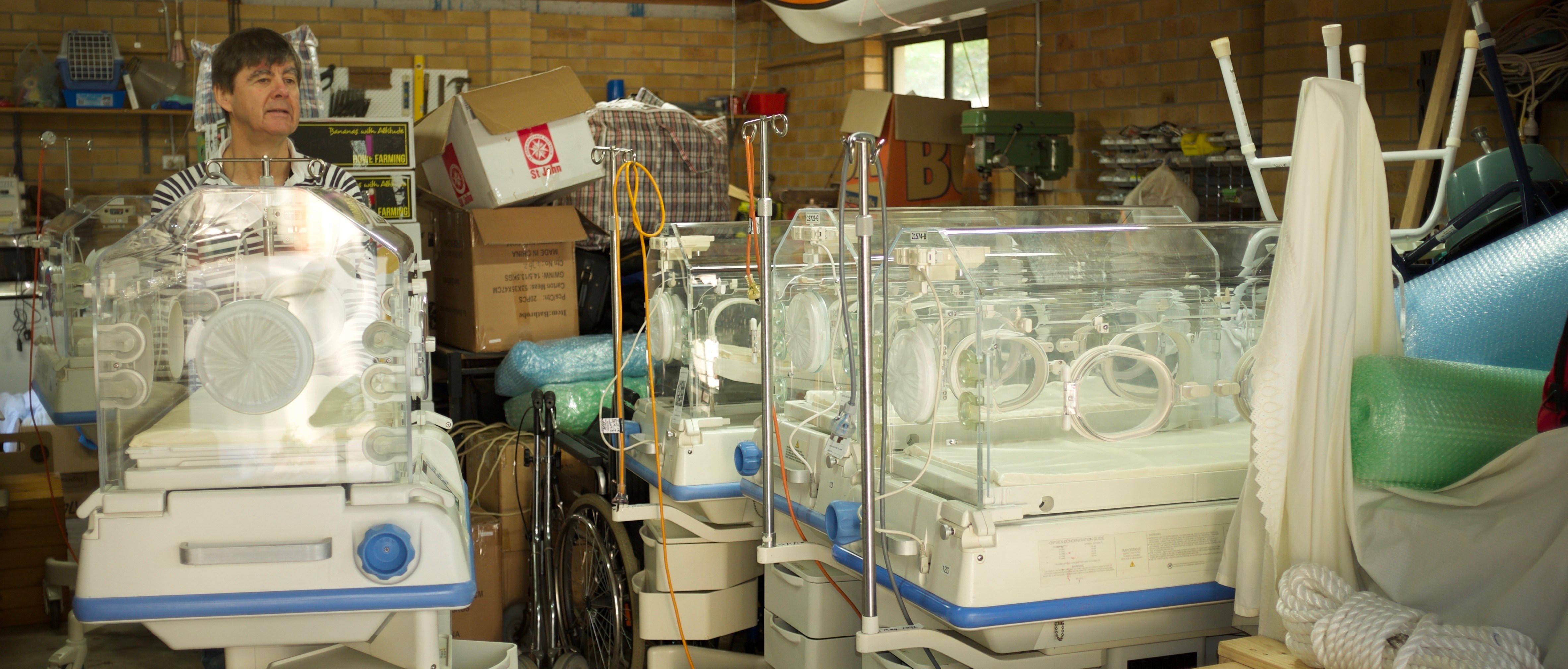 Hospital Equipment for Iraq